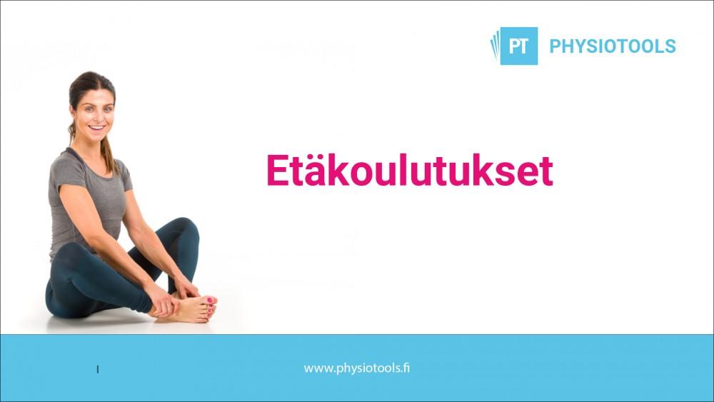 Physiotools etäkoulutukset