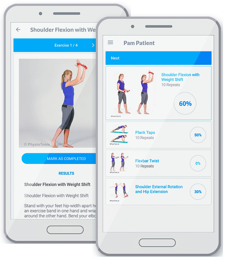Physiotools Trainer app