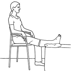 PT Extra - Training mit Gips - Beinübungen