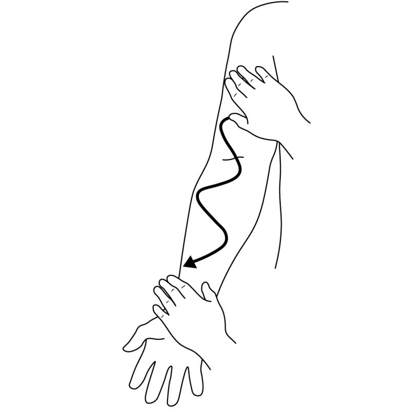 Taktil stimulering/massage