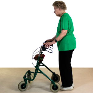 Training mit dem Rollator - Funktionelle und Gleichgewichtsübungen