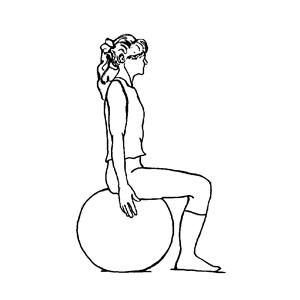 Therapeutische Ballübungen