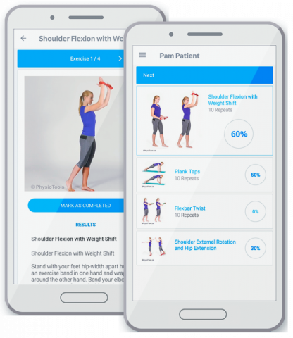 Physiotools app