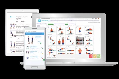 Physiotools app