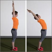 Förbättrad hållning via muskelaktivitet