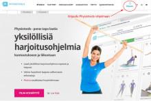 Kirjaudu Physiotoolsiin nettisivuiltamme
