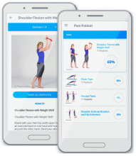 Physiotools Trainer exercise app